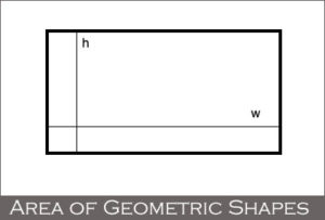 Area of Geometric Shapes