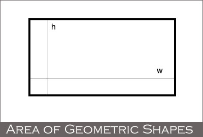 Area of Geometric Shapes