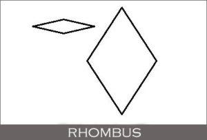 Rhombus - Geometric Shape