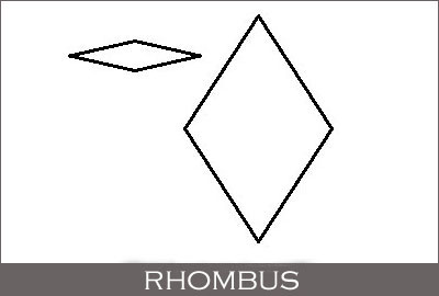 Rhombus or Diamonds (Geometric Shape)