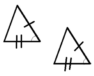 SAS congruent triangles