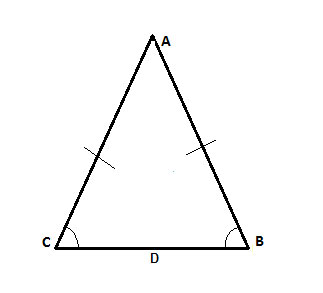 Base angles theorem in Geometry