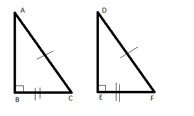 Congruent Right Triangles