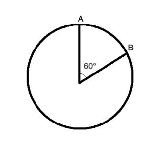 Geometry: arc in a circle
