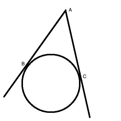 two tangent theorem in geometry