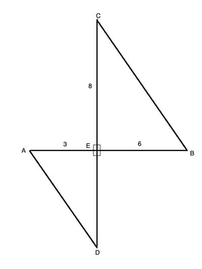 Area of similar triangles