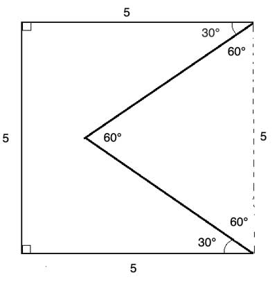 perimeter of a polygon with equilateral
