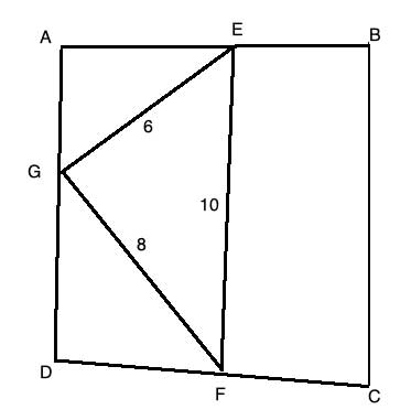 quadrilateral with connected midpoints and triangle