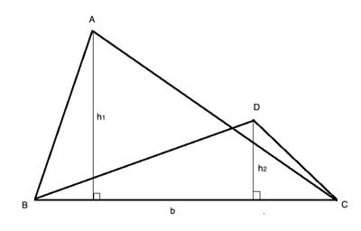 triangles with same base