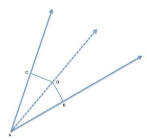 Angle Bisector with 2 distances