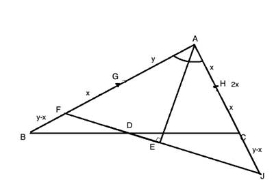 triangles with side lengths