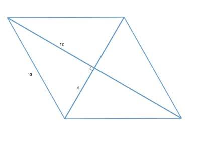 diagonals form Pythagorean triples
